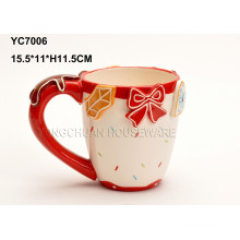 Ceramic Hand Painted Wedding Coffee Mug