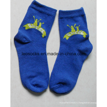 Высокое качество Baby Дешевые хлопчатобумажные носки