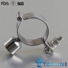 Clip de tubo sanitario de acero inoxidable (suspensión de tubería)