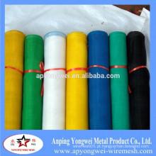 Malha de fibra de vidro resistente a álcalis revestidos reforçados