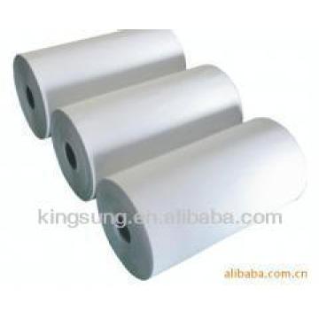 Rollo de papel de etiqueta sin revestimiento térmico directo de Shanghai