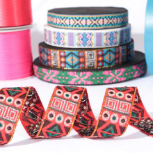Fábrica venta directa agradable cinta étnica