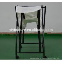 стеклоподъемник тележку с бельем и корзину с грязным бельем