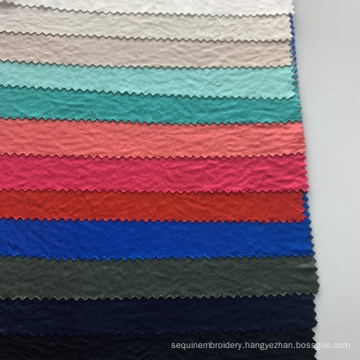 Free sample wholesale Soft Hand Feel 100% polyester knitting satin  fabric dress for sleepwear fabric
