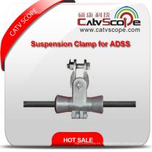 Abrazadera de alta calidad de la suspensión del cable de la fibra óptica de ADSS del proveedor de China