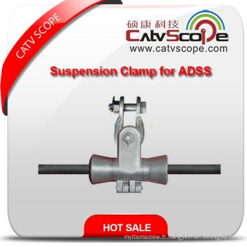 Chine Fournisseur de haute qualité ADSS fibre optique Câble Suspension Pince