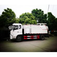 12CBM 4 * 2 Dongfeng limpieza y camión de succión de aguas residuales / camión cisterna de succión de aguas residuales / camión de succión de aguas residuales / camión de succión de alcantarillado de vacío