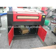 JK-6090 máquina de gravação a laser para corte de acrílico, couro, madeira, frabic