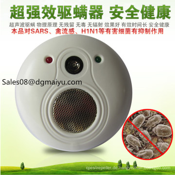 Mute Miles Instrument Ultraschallantrieb zusätzlich zu schädlichen Bakterien Milben Bettwäsche Potent Pentac Allergie