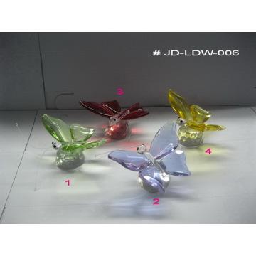Presentes de borboleta de vidro de cristal (JD-LDW-006)
