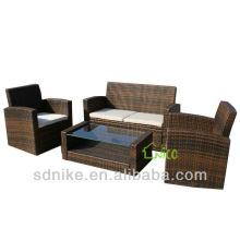 Wicker Rattan Familie Freizeit Sofa SE-032