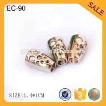 EC89 2015 moda ouro corda cabo cordão personalizado para a roupa por atacado