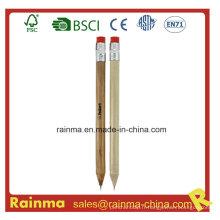 Crayon propulseur en bois pour cadeau stylo Logo