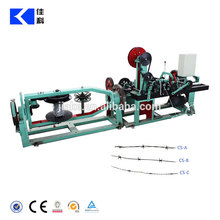 Double barbed wire machine / barbed wire making machine/ wire barbed making machine(manufacturers)