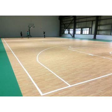 FIBA Approved Indoor PVC Basket Flooring