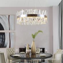 Decorative wedding event silver lighting chandelier modern crystal chandelier