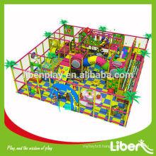 Non-toxic Children Favorite indoor amusement playground with trampoline