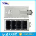 15W IP65 de preço de fábrica integrado tudo em uma luz de rua solar do diodo emissor de luz