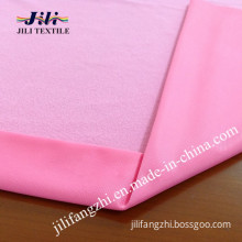 Polyester Clinquant Velvet Fabric for School Uniform/Sport Wear Fabric