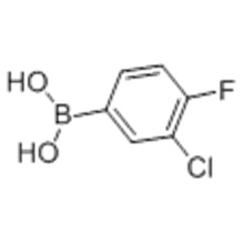 3-Chloro-4-fluorophenylboronic acid CAS 144432-85-9