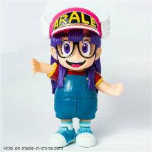 Hotsale Cute Girl Figure Plastic Toy de regalo de cumpleaños