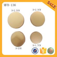 MFB136 Модная пуговица металлическая кнопка пользовательские кнопки пуговицы пуговицы