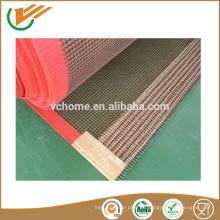 Cinta transportadora de malla de fibra de vidrio revestida de Teflon de alta calidad PTFE