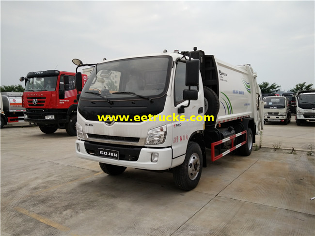 4000 Litres Garbage Collection Trucks