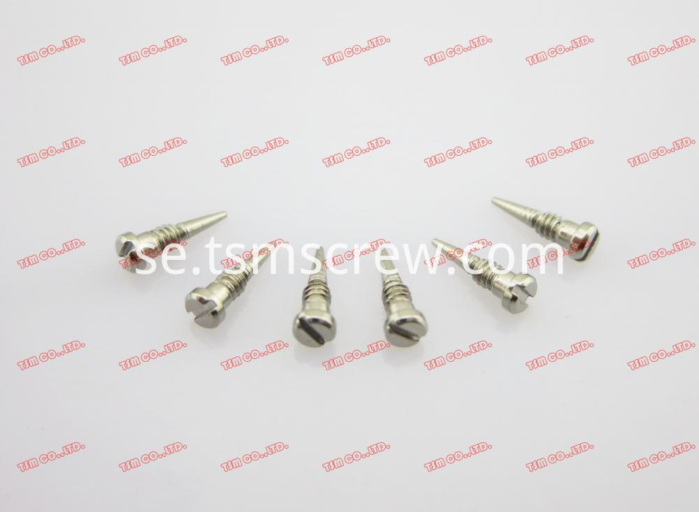 TSM SILVER HALF THREAD SPRING HINGE SCREW-1