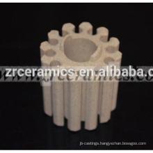 Industrial cordierite ceramic cores