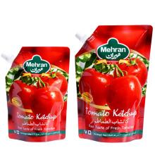 Bolsas de papel de aluminio bolsa de bocadillo de salsa de tomate
