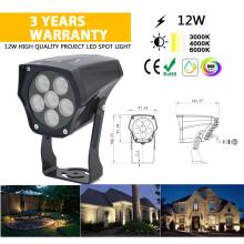 Spot LED en aluminium