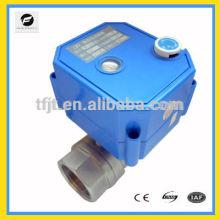 Motor hidráulico DC12V CWX-25S Válvulas con función de anulación manual para reutilizar el agua de lluvia y reutilizar el sistema de aguas grises