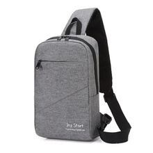 2021 Hot Sales Promotion Sling Shoulder Sports Teenagers Triangle Backpack
