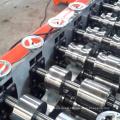 Perfil de acero de pista de yeso y perno prisionero de doble línea cu ligero rollo de enmarcado de acero que forma la máquina