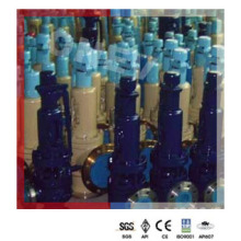 1000 ° F Wc9 фланцевый предохранительный предохранительный клапан для пара