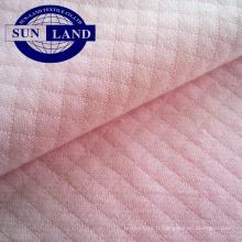 tissu de couche d'air de tricotage de diamant de cvc pour le textile à la maison