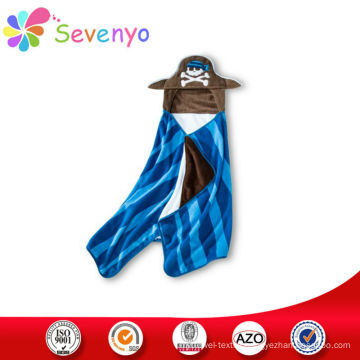 cartoon hoodie beach towel for baby China supplier