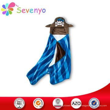 toalha de praia do hoodie dos desenhos animados para o fornecedor de China do bebê