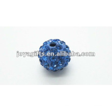 10mm shamballa clay crystal ball