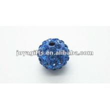 10mm bola de cristal de argila shamballa
