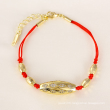Xuping Fashion Red Rope Bracelet for Animal Year