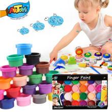 Fábrica de vendas quente direto fácil de limpar e adequado para crianças não-tóxico dedo pintura