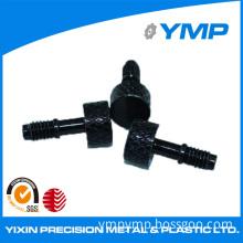 Customed Precision Machining CNC Aluminum Screws with Black Oxide Finish