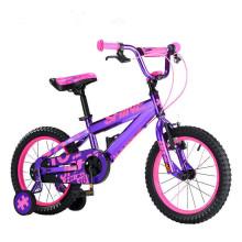 2017 China mayorista bicicleta CE niño bicicleta / niños 4 ruedas bicicleta niños tamaño 12 / nuevo modelo barato bebé bicicleta niños