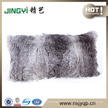 Whloesell real fur Rabbit Fur Cushion