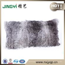 Whloesell real fur Rabbit Fur Cushion