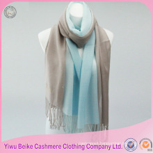 2017 high quality solid color cashmere silk scarf wholesale pashmina shawl