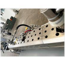 Extrusora de plástico de doble tornillo co-rotatorio Parellel para compuestos plásticos