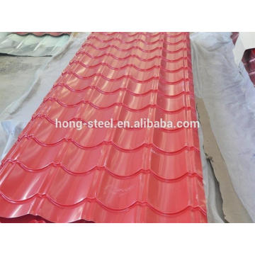 hot sale gi corrugated sheet/GI GL roof sheet/corrugated steel sheet factory